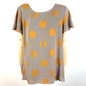 Laura polka dots blouse